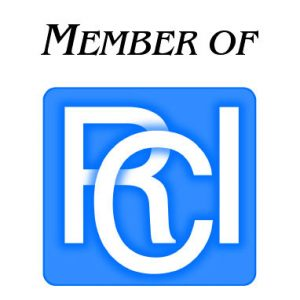 RCI Logo in footer